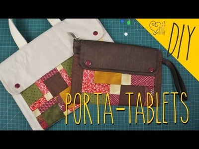 DIY ::: Porta - Tablets - By Fê Atelier