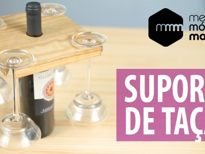 DIY: Porta-Taças com Reaproveitamento de Madeira