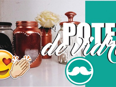 4 DICAS DE COMO REAPROVEITAR POTES DE CONSERVAS - #DIY