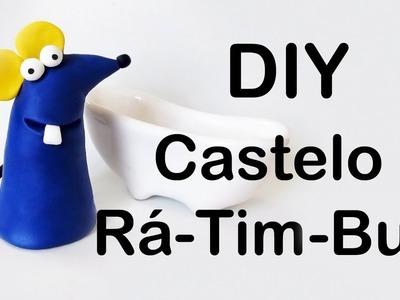 DIY: Como Fazer o Ratinho de CASTELO RÁ-TIM-BUM em Biscuit | Ideias Personalizadas - DIY