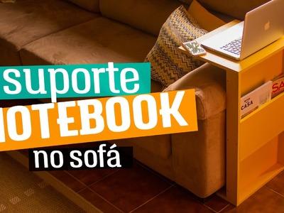 DIY - SUPORTE PARA NOTEBOOK NO SOFÁ | Diycore