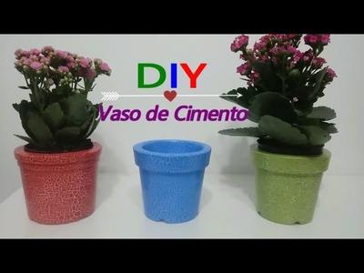 DIY: Vaso de Cimento