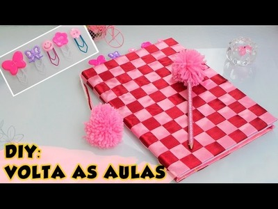 DIY: Volta as aulas - Customize seu material escolar