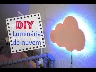 Luminária de nuvem | DIY