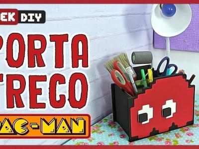 Porta Treco Pac-man | DiY Geek