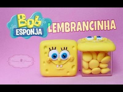 DIY - Bob esponja para lembrancinha