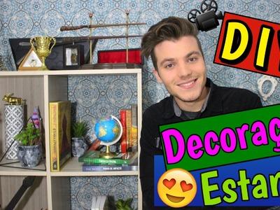 DIY - Como Decorar a Estante Gastando Pouco - Eduardo Wizard