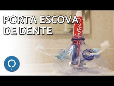 Como fazer porta escova de dente | DIY