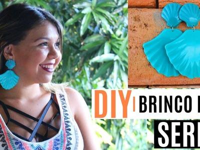 DIY | BRINCO DE CONCHA fácil e barato em 5 minutos.Por: Maria Luiza Argôlo