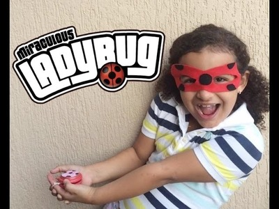DIY: COMO FAZER A MÁSCARA DA LADY BUG E DO CAT NOIR- MIRACULOUS