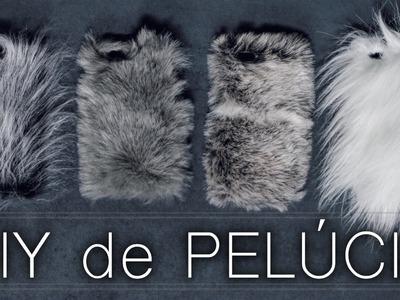 ・ Chaveiro ・ Bolsa ・ Cases  SUPER FOFOS | DIY de PELÚCIA ♡