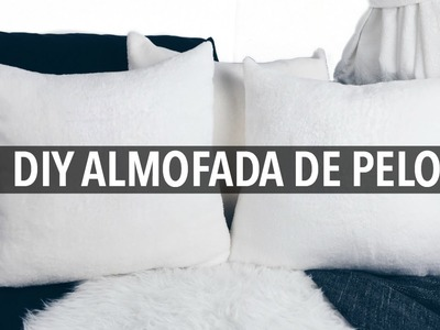 DIY - ALMOFADA DE PELO | COMO FAZER ALMOFADA DE PELO | Kezia Happuck