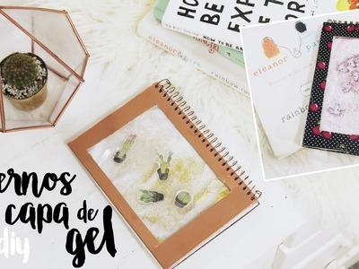 DIY Cardernos com Capa de Gel, Glitter e Unicórnios!