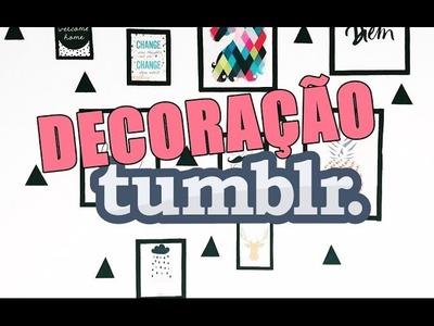 DIY: Decoração para quarto inspirada no tumbrl