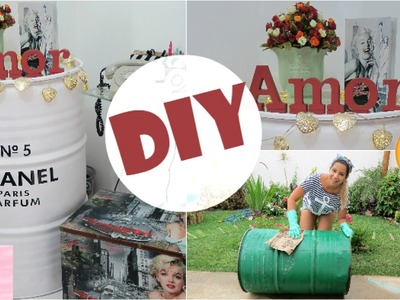DIY: TAMBOR DA CHANEL | Decor #TaiNoVEDA7