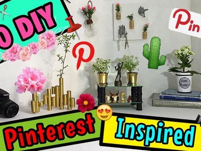 10 DIY Decoração Pinterest - Eduardo Wizard .Ft Bárbara Deschamps