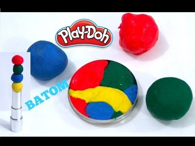 DIY: BATOM  PLAY DOH