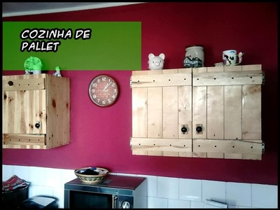 Cozinha de pallet  AutoLuxo #BrevePassoAPasso #Tutoriais #DIY #DecorarMoveisCaseiros
