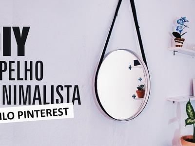 DIY | Espelho Minimalista - Estilo Pinterest (Inspired Adnet)