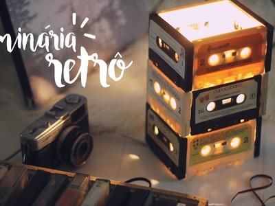 DIY: Luminária de Fitas Retrô Pinterest Inspired