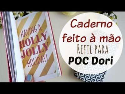 DIY CADERNO COSTURADO A MÃO | #NãoéCópia