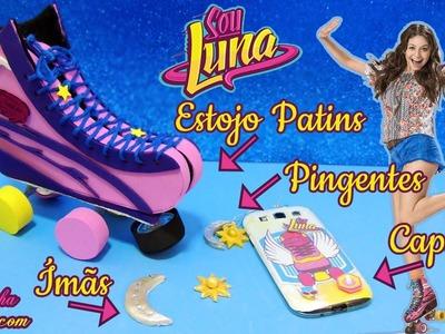 DIY Sou Luna: Estojo de Patins, Pingentes. Colar, Ímãs e  Capinha - Como Fazer | Corujices da Lu