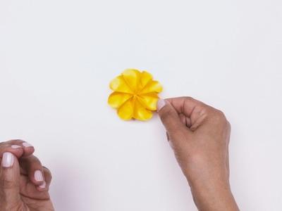 Ajude a espalhar o espírito da primavera com a arte do origami