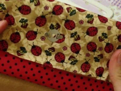 Como Fazer Carteira de Tecido sem Costura Artesanato