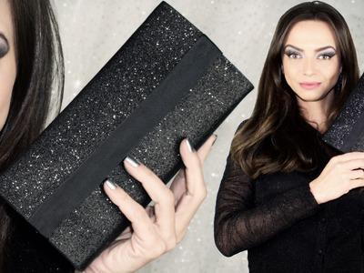 DIY Bolsa de Festa - EVA com Glitter