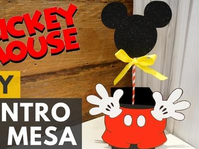Centro de mesa do Mickey |DIY - Faça você mesmo