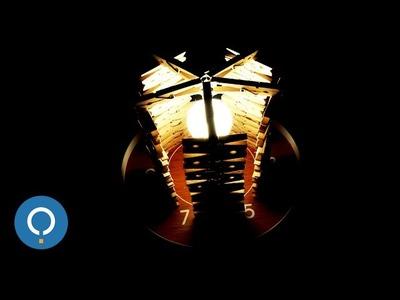 Como fazer luminaria de pregador de roupa | DIY