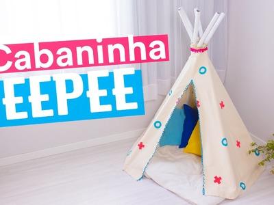 CABANINHA TEEPEE - DIY DIA DAS CRIANÇAS #1