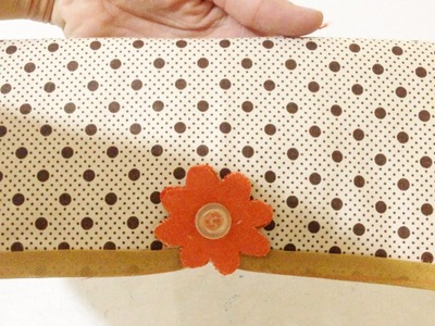Carteira de Tecido Sem Costura Passo a Passo - Artesanato Fácil DIY