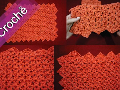 DIY - Crochê - Tapete em Ponto Relevo 3D (Passo a Passo)