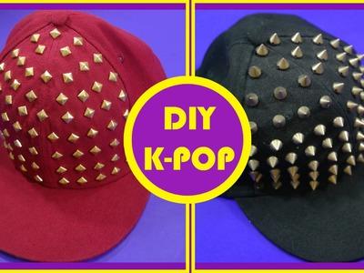 DIY K-POP - Boné Com Spikes