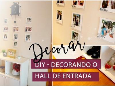 DIY: Como decorar o Hall de Entrada da Casa | Pigmento F
