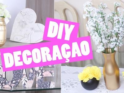 DIY - Decoração com vidros e madeiras para sua casa | Jana Taffarel