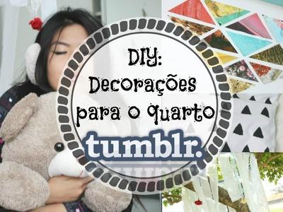 DIY: Decorações para o quarto inspirado no Tumblr