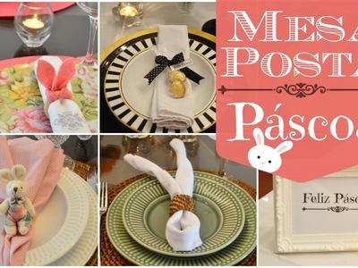 DIY - Dicas para decoração de Páscoa | Mesa posta
