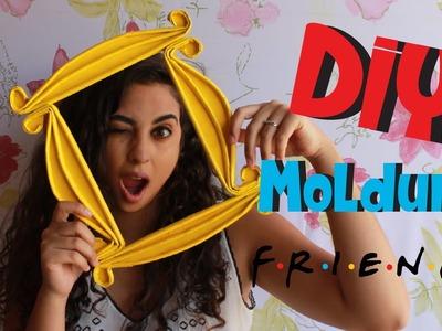 DIY Moldura de Friends Feita com Jornal