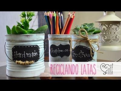 DIY ::: Reciclando Latas