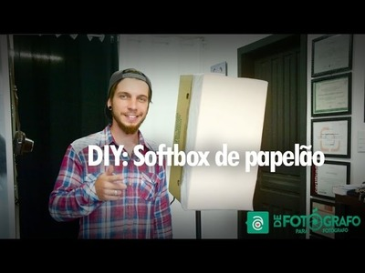 DIY:  Softbox de papelão