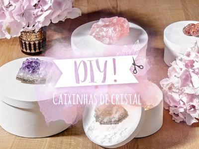DIY: Como decorar caixinhas com cristais | WESTWING