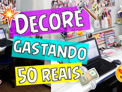 DIY - DECORE SEU QUARTO GASTANDO POUCO, MENOS DE 50 REAIS - por Prih Gomes
