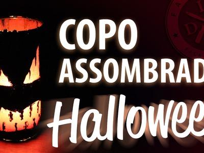 COPO ASSOMBRADO - HALLOWEEN. DIA DAS BRUXAS - FAMÍLIA DIY - DECORAÇÃO DE FESTA