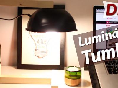 DIY: Como fazer uma luminária estilo tumblr para decorar