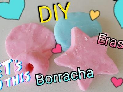 Como Fazer Super Borracha que Apaga com 3 Ingredientes   DIY Super Eraser por Sofias Furlani