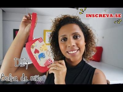 DIY Bolsa de mão (Para celular,cartões,chaves)