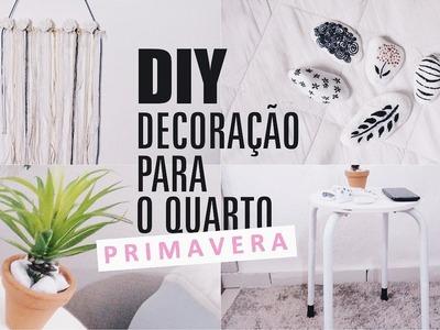DIY | Decoração para o quarto |  Especial PRIMAVERA (Spring Room Decor)