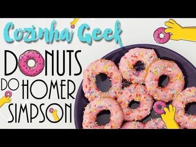 DIY: Donuts do Homer Simpson! - Cozinha Geek | ep. 11